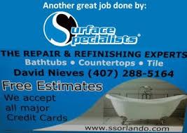 Bathtub Refinishing Florida Bathtub Repair Tub Refinishing Tub Shower Conversions