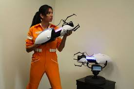 portal jumpsuit own the portal jumpsuit device and socks collider