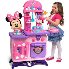 jeux de minnie cuisine minnie mouse bow tique flipping play kitchen 55 walmart
