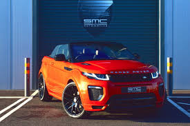 orange range rover used land rover range rover evoque cars second hand land rover