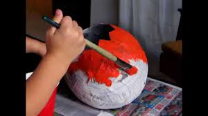 easy diy paper mache crafts for kids youtube