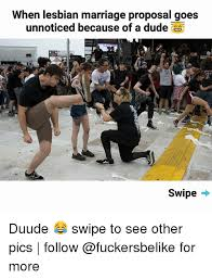 Wedding Proposal Meme - when lesbian marriage proposal goes unnoticed because of a dude