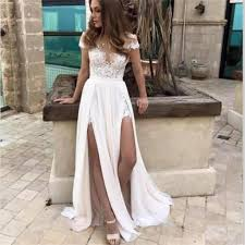 inexpensive weddings cap sleeves simple slit most popular lace chiffon inexpensive