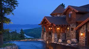 custom mountain home floor plans modern house plans custom lake plan home with water view hillside