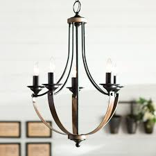 Tadpoles 3 Light Mini Chandelier by Contemporary Brushed Nickel Chandelier Parsons Studio 5 Light