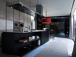 black and white luxury modern kitchen 4 home ideas