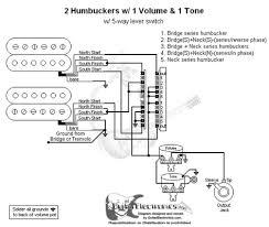 humbuckers 5 way lever switch 1 volume 1 tone 03