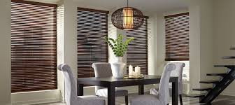dining room blinds wood blinds dining room made in the shade