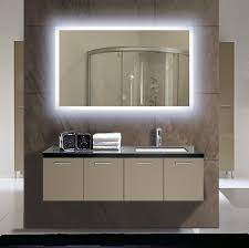 lighted mirrors illuminated bathroom trends and back picture