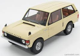 1970 land rover bos models bos166 scale 1 18 land rover range rover 1970 beige