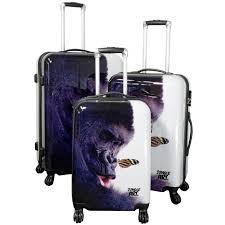 koffer design top design trolley koffer set 3 tlg 4 rollen mod gorilla 189 0