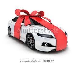 car bow ribbon car bow stock illustration 37795468