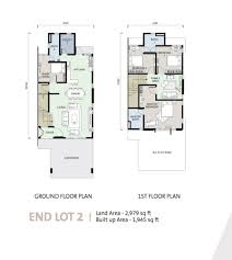 Corner Lot Floor Plans Review For Puisi Alam Sari Propsocial