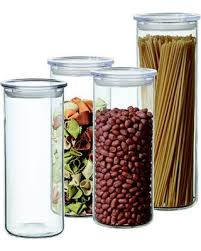 Food Storage Container Sets - deal alert simax 8 piece cylinder food storage container set