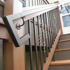 Handrails Metal Handrails Deck Stairs Aluminum Steel Decksdirect