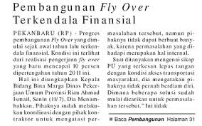Fly Over Pekanbaru