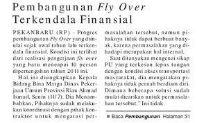 Fly Over Pekanbaru
