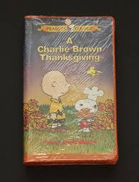 a brown thanksgiving vhs 1999 clamshell ebay