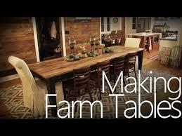 10 ft farmhouse table making a farm table youtube