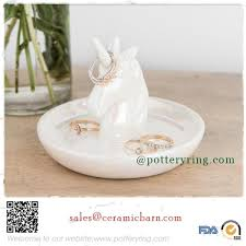 porcelain rabbit ring holder images Porcelain ring holder ceramic ring holder tray dish jpg