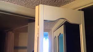 Closet Doors Diy Diy Tip Updating Mirrored Bifold Closet Doors