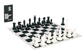 cool chess set amazon com tournament chess set with heavyweight game pieces