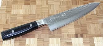 Japanese Kitchen Knives Uk Yaxell Zen Chef Knife 20cm Damascus Hammered Blade