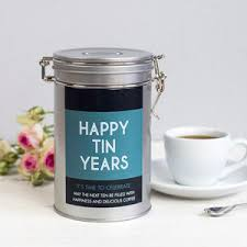 wedding gift hers uk 10th wedding tin anniversary gifts notonthehighstreet