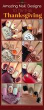 21 amazing thanksgiving nail art ideas stayglam