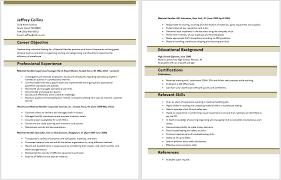 Package Handler Resume Sample by Free Download Resume Templates Fill In And Download Resume