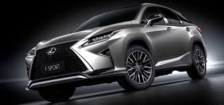 new lexus 2016 new lexus rx range to feature turbo power