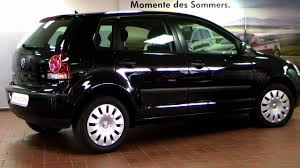 polo volkswagen black volkswagen polo 1 4 tour automatik 2007 black magic perleffekt