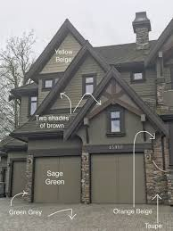 dark grey with orange trim house and 2017 images including the