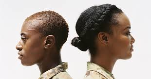 hairstyles for female army soldiers these inspiring black servicewomen are embracing natural twists