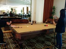 pool tables las vegas pool table in the lobby picture of trump international hotel las