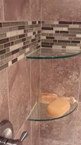 Glass Corner Shelves For Bathroom by Best 20 Glass Corner Shelves Ideas On Pinterest Glass Shower