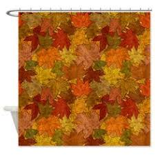 Autumn Colored Curtains Autumn Colors Fall Tree Shower Curtain Bathroom By Tablishedworks