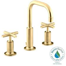 Gold Bathroom Fixtures Delta Gold Bathroom Sink Faucets Faucet Finish Brass Led 2