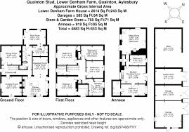 Waddesdon Manor Floor Plan 4 Bedroom Equestrian Facility For Sale In Quainton Stud Hp22