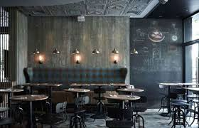 Restaurant Design  Cool Examples Of Pizza Restaurant Design - Interior restaurant design ideas