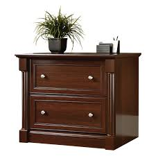 sauder palladia lateral file cabinet select cherry hayneedle