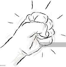 sketch fist vector art getty images