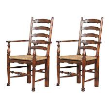 furniture classics 28731qc english country ladderback arm dining