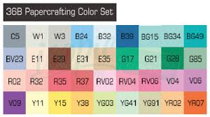 copic sketch marker 36 piece set b papercrafting 36b icopic com