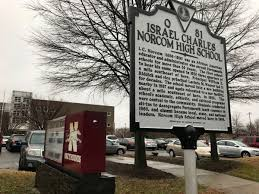 ic norcom high school yearbook new historical marker commemorates the of educator i c