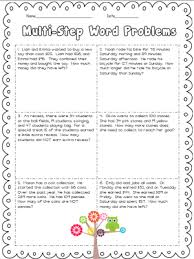 multi step word problems 5th grade printable addition and subtraction unit and a freebie ashleigh s education