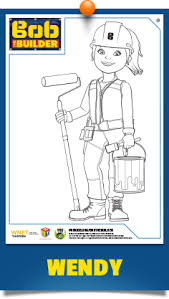 coloring pages bob builder pbs kids