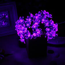 purple solar flower lights great things to buy