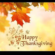 happy thanksgiving to all of my american friends around the world i