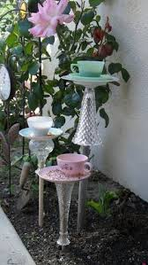 Flower Pot Bird Bath - diy garden mushrooms from birds u0026 blooms magazine lawn n garden